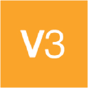 V3 logo icon
