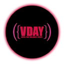 Vday logo icon