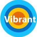 Vibrant logo icon