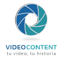 Videocontent logo icon