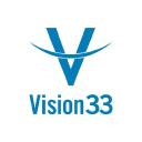 Vision33 logo icon