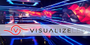 Visualize Led logo icon