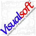 Visualsoft logo icon