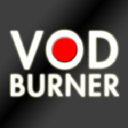 Vod Burner logo icon
