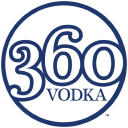 360 Vodka logo icon