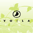 Voila Salon logo icon
