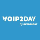 Voip2day logo icon
