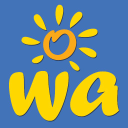 Wa Holiday Guide logo icon