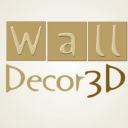 Walldecor3 D logo icon
