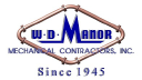W D Manor Mechanical Contractors Inc-logo