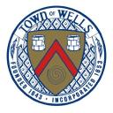 Wells Maine Police logo icon