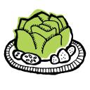 Well Vegan logo icon