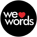 We Love Words logo icon