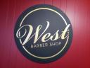 West Barber Shop logo