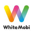 White Mobi logo icon