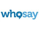 Who Say logo icon
