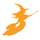 Wicked 10 K logo icon