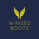 Winged Boots logo icon