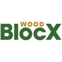 Wood Bloc X logo icon