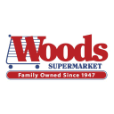 Woods Supermarket logo icon