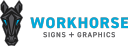 WORKHORSE Signs + Graphics logo