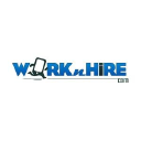 Work N Hire logo icon
