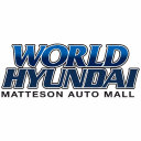World Hyundai Matteson logo icon
