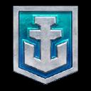 World Of Warships logo icon