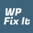 Wp Fix It logo icon