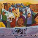 Washington State Labor Council logo icon