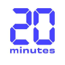20 Minutes logo