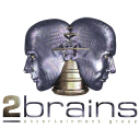 2BRAINS ENTERTAINMENT GROUP logo
