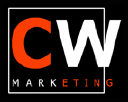 CW MARKETING logo