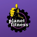 Logo for Planet Fitness