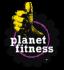 Logo for Planet Fitness