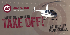 Aviation job opportunities with Quantum Helicopters