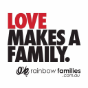 Rainbow Families Incorporated Logo