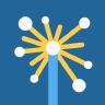 Sparkly logo