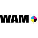 WAM Print logo