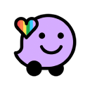 Logo for Waze