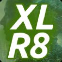 XLR8 Services logo