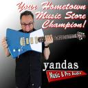 Yandas Music & Pro Audio logo
