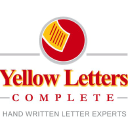 Yellow Letters Complete logo icon