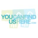 YOUCANFINDUSHERE.COM logo