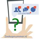 Zoekopnummer logo icon